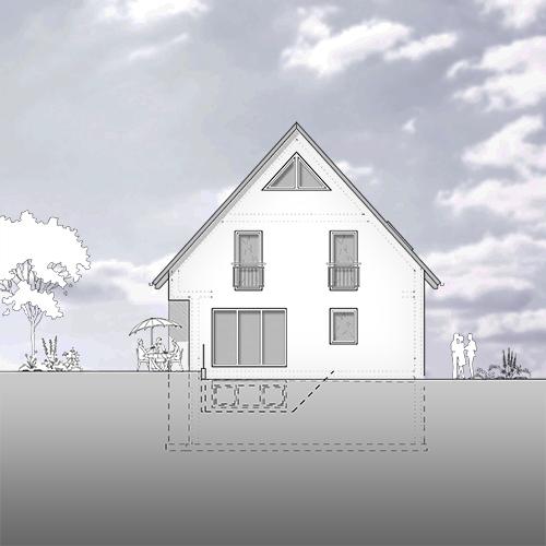 Neubau einfamilienhaus d ferrara for Neubau einfamilienhaus