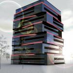 Visualisierung Hochhaus